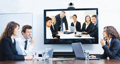 Video Conference Quot Smile You Re On Camera Quot